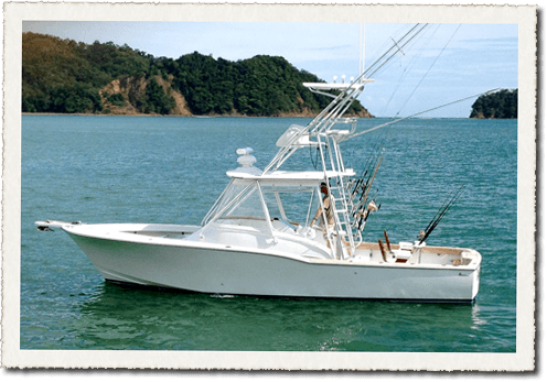 Our Epic sportfishing charter boat